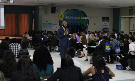 Rushion McDonald Announced as Keynote Speaker at Quail Valley Middle School Career Day