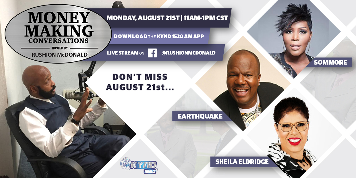New Episode August 21st – Featuring Sommore, Earthquake, and Sheila Eldridge