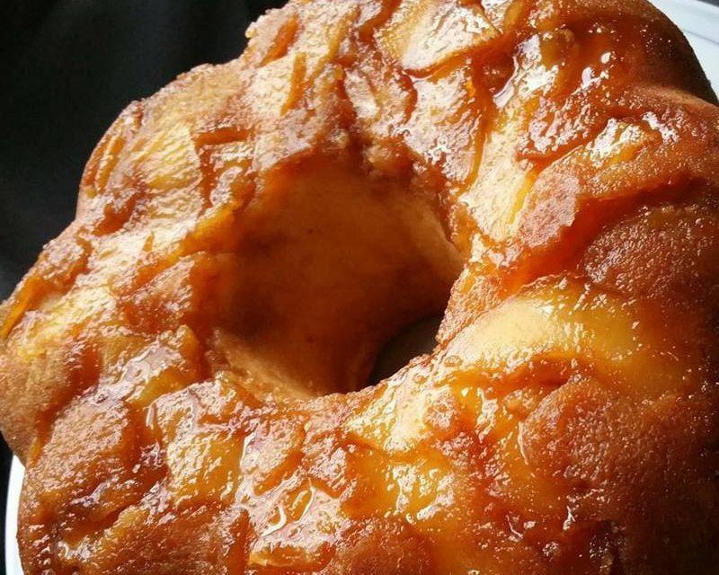 Apple Upside-Down Cake by Octavia from Sweet & Savory Tastings