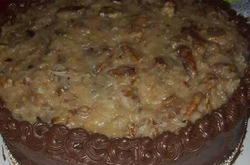 German Chocolate Cake by Carmella Alexander