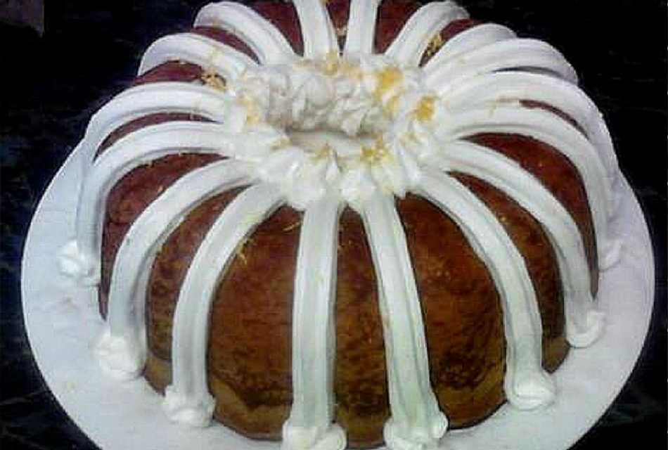 Lemon Pound Cake made by Paula Crisler