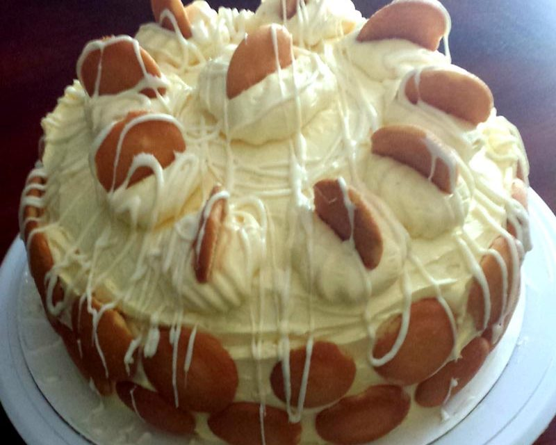 Banana Pudding Cake by Karen Capehart