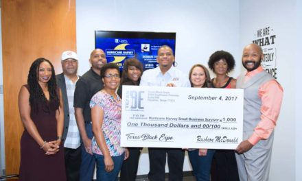 Texas Black Expo & Emmy® award-winning producer Rushion McDonald join forces to help small businesses affected by Hurricane Harvey