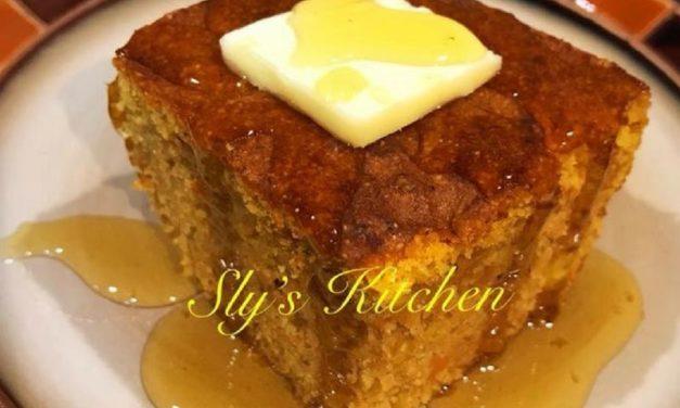 Sweet Potato Cornbread by Sly J. Miles