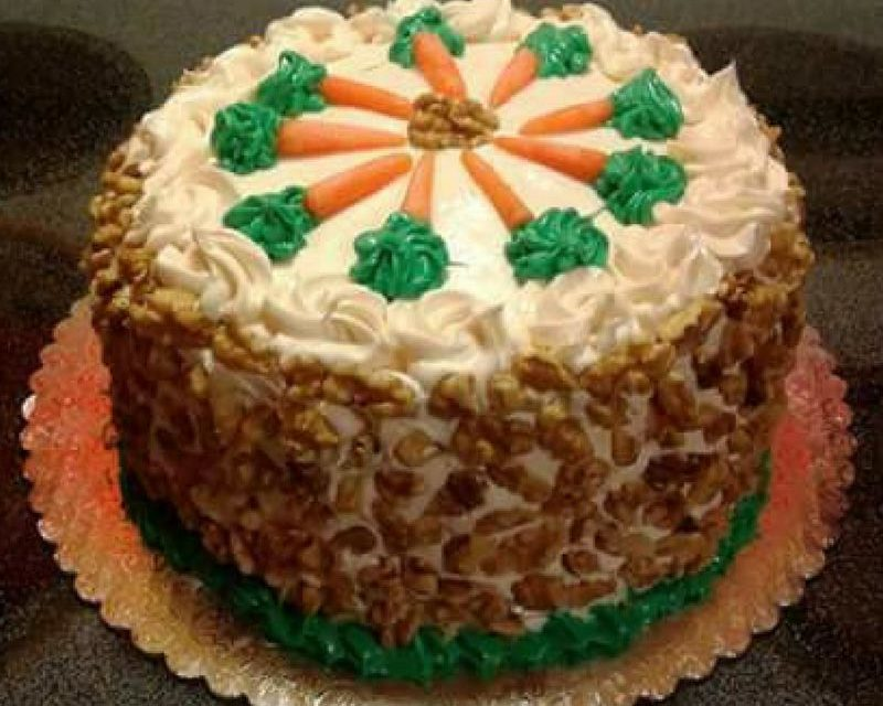 Carrot Cake by Chaymaya Thom