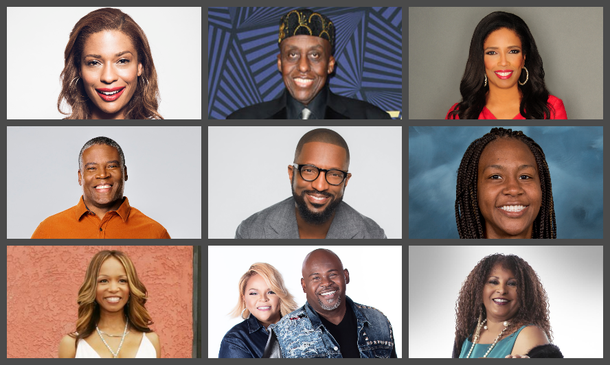 "DAVID AND TAMELA MANN, PAM GRIER, RICKEY SMILEY, ELISE NEAL, BILL DUKE, AND MORE JOIN THE OCTOBER LINEUP OF THE HIT SHOW ""MONEY MAKING CONVERSATIONS,"" HOSTED BY RUSHION MCDONALD"
