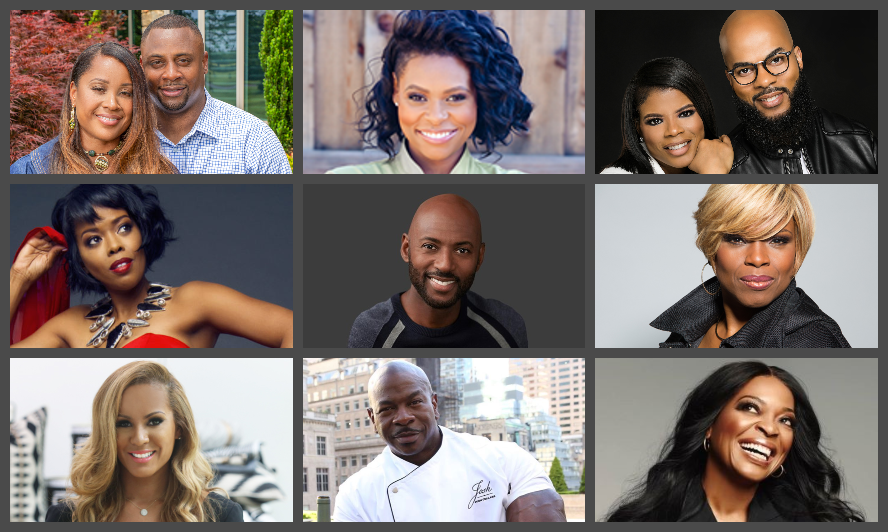 "Sanya Richards-Ross, Malinda Williams, Amin Joseph, Tina Lifford, Chef Jamika Pessoa, Troy & Tommi Vincent, and More Featured This September on the Hit Show ""Money Making Conversations,"" Hosted by Rushion McDonald"
