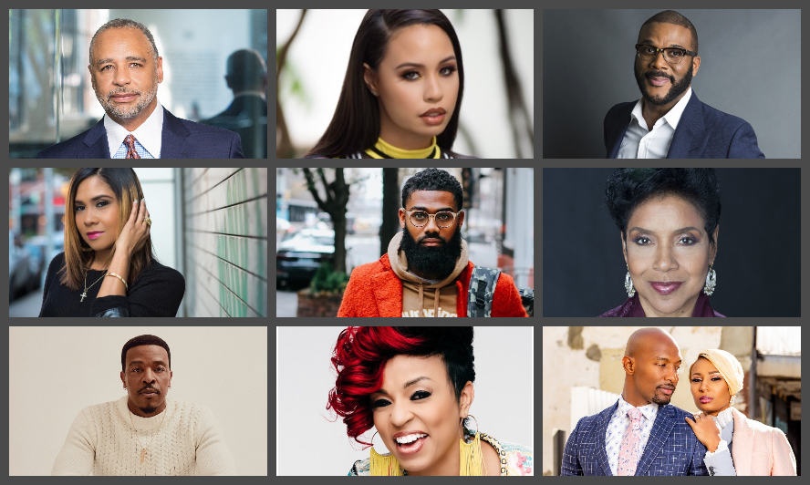 "Tyler Perry, Ed Gordon, Russell Hornsby, Angela Yee, Matthew A. Cherry, Melody and Martell Holt, and More Delivered a Powerful Month of Visionary Success on the Hit Podcast ""Money Making Conversations,"" Hosted by Rushion McDonald"