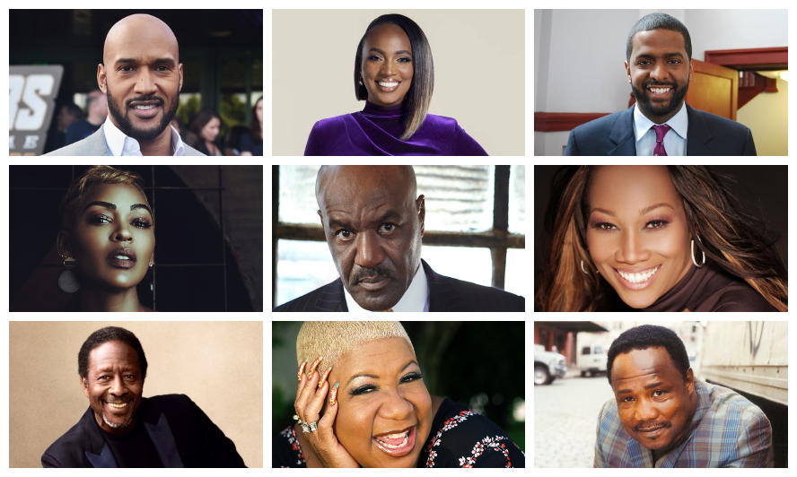 """MEAGAN GOOD, DELROY LINDO, YOLANDA ADAMS, HENRY SIMMONS, BAKARI SELLERS, AND MORE PRESENT A POTENT LINEUP THIS JUNE ON THE HIT TALK SHOW """"MONEY MAKING CONVERSATIONS,"""" HOSTED BY RUSHION McDONALD"""