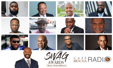 Rushion McDonald Spotlights Van Jones, Attorney Ben Crump, Reginald Hudlin, Bubba Wallace and more in A New Round of Honorees for Café Mocha Radio 'SWAG Award' Feature, Celebrating Black Men Who Empower Others