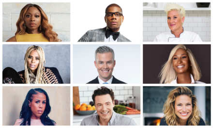"""RUSHION McDONALD HOSTS KIRK FRANKLIN, NATURI NAUGHTON, ANNE BURRELL, ROCCO DiSPIRITO, DONATELLA ARPAIA, LAURIEANN GIBSON, AND MORE FOR FEBRUARY ON HIS HIT PODCAST """"MONEY MAKING CONVERSATIONS"""""""